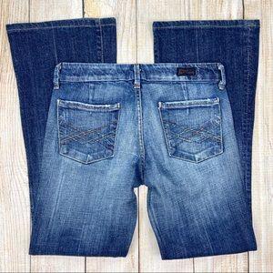 COH Blue Kate #066 Low Waist Full Leg Jeans